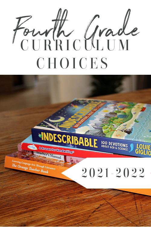 4th Grade Homeschool Curriculum 2021-2022 #Homeschool #homeschoolcurriculum