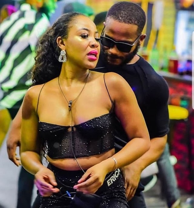 #BBNaija: Erica Reveals Why She Can't Pick Kiddwaya As Head Of House