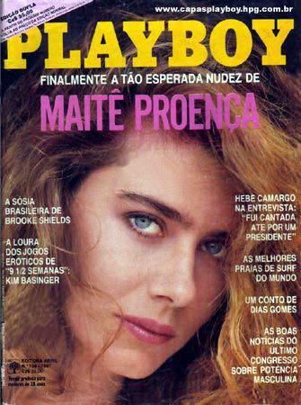 Maitê Proença - Playboy 1987