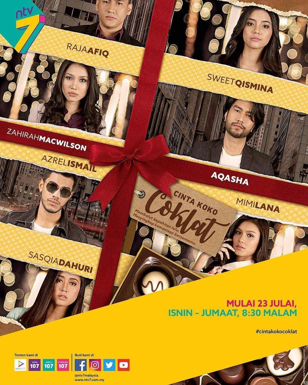 Permalink to Drama Cinta Koko Coklat, hiasi slot Glamadrama NTV7