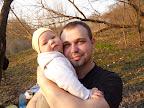 Именинник с дочечкой-Соней :)