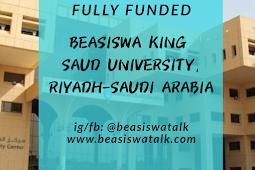 Fully Funded Beasiswa King Saud University (KSU) Riyadh untuk Ma'had Lughoh dan Dioloma Ali