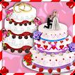 Rose Wedding Cake Maker Games APK