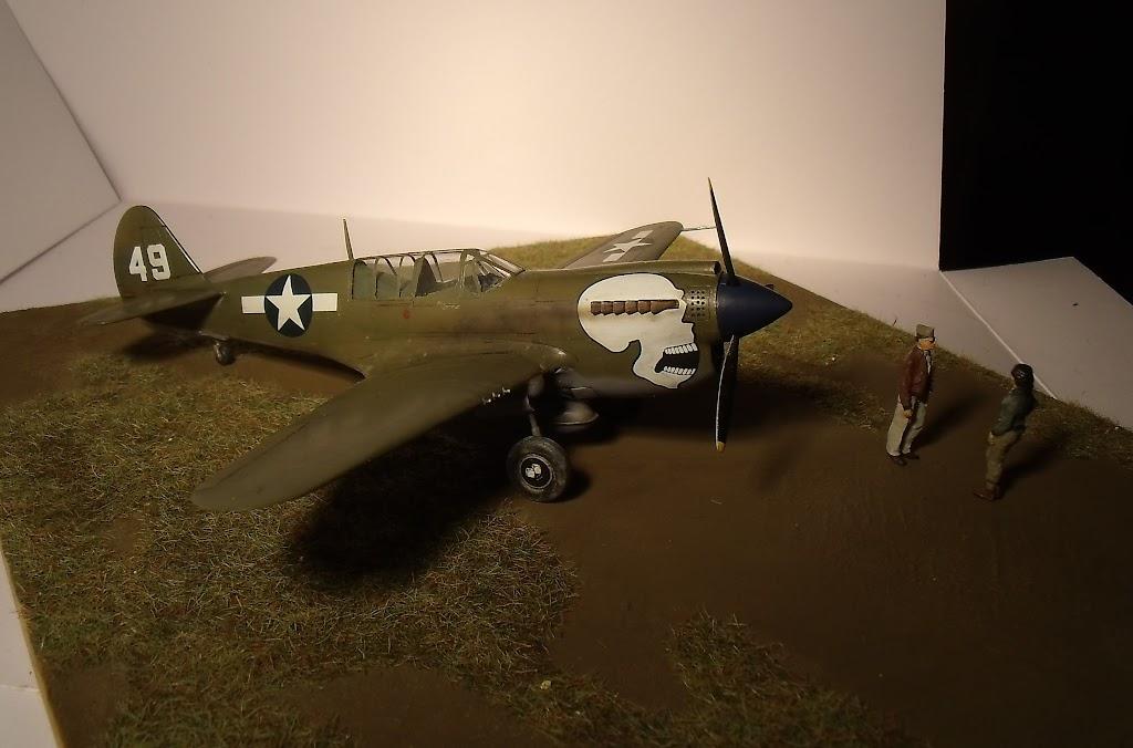 [Hasegawa] Curtiss P-40N Warhawk GEDC1231
