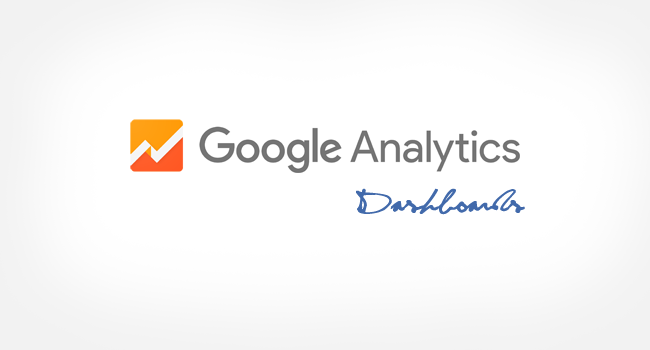 Google Analytics Custom Dashboards for Websites
