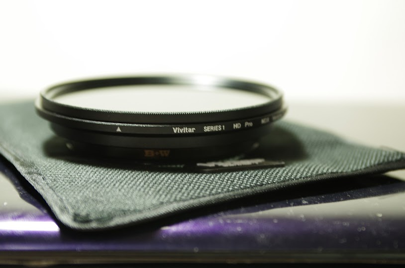 Vivitar Variable NDX Filter (ND2 to ND1000) 77mm