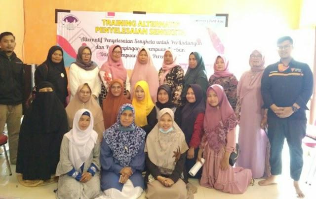 AWPF Gelar Training Alternatif Penyelesaian Sengketa Bersama Perempuan Bener Meriah