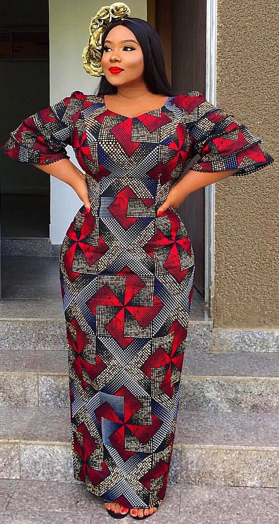 POPULAR AFRICAN CLOTHING WOMAN STYLES 2019 2