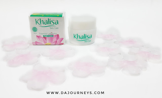 Khalisa Essential Lightening Skin Care Night Cream
