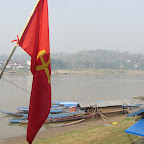 Laotischer Grenzort Houi Xai