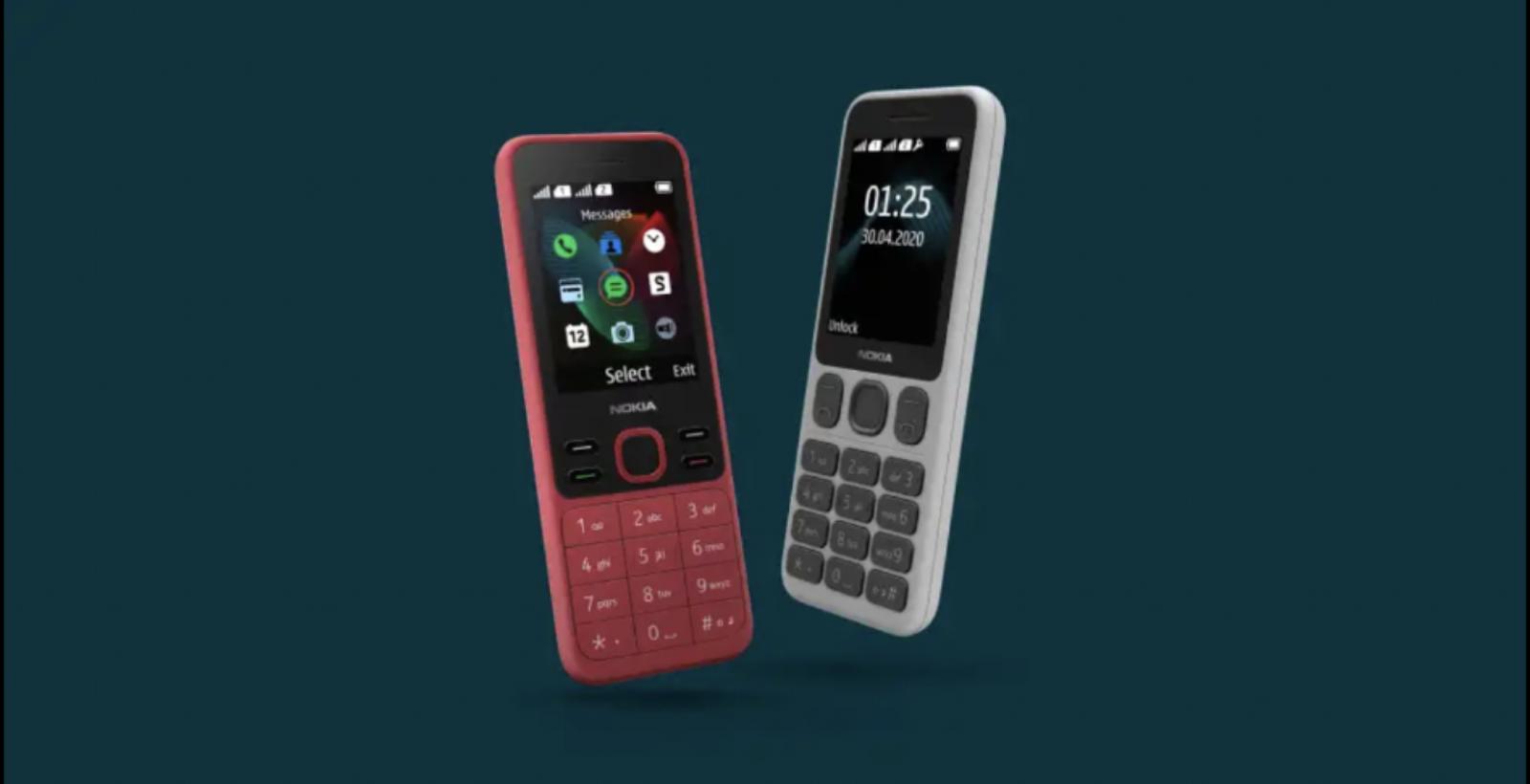 Nokia เปิดตัวฟีเจอร์โฟนรุ่นใหม่ Nokia 125 และ Nokia 150