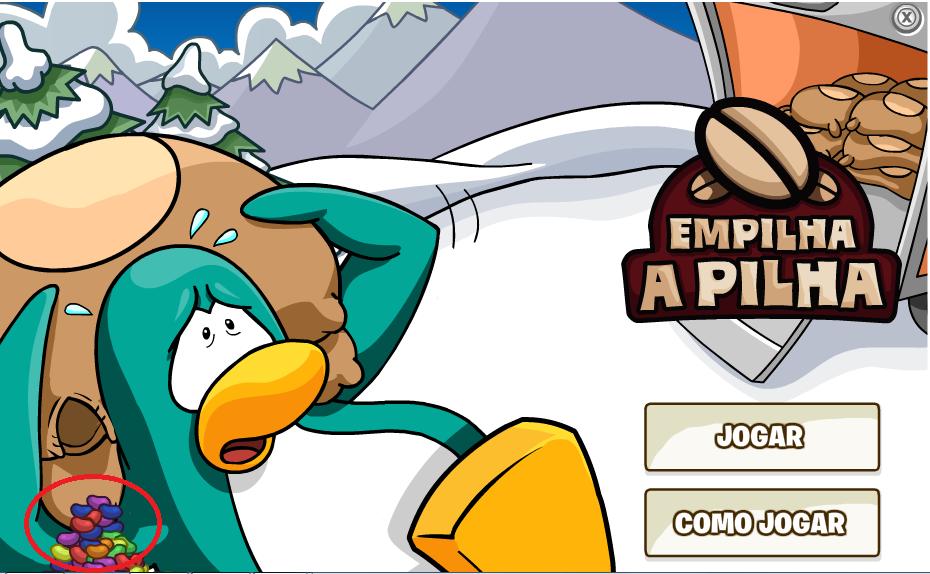 Club Penguin: Empilha a Pilha