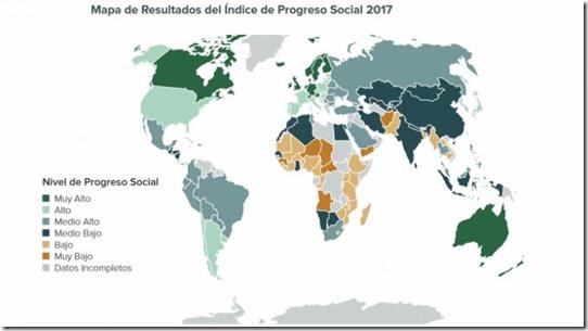 Progreso social en Bolivia