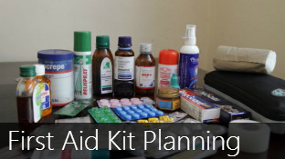 Planning your Travel First Aid Kit