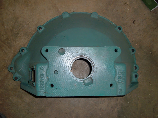 Stock 53-56 264-322 bell housing. Can be modified for other transmissions.  one only for 150.00