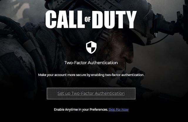 Call of Duty hesabınız için iki faktörlü kimlik doğrulama nasıl kurulur?