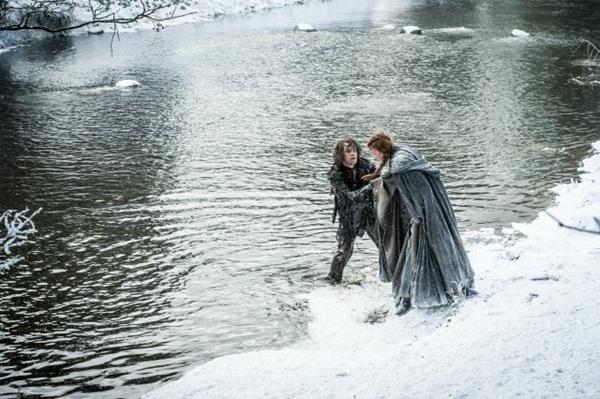 Sansa y Theon - Game of Thrones