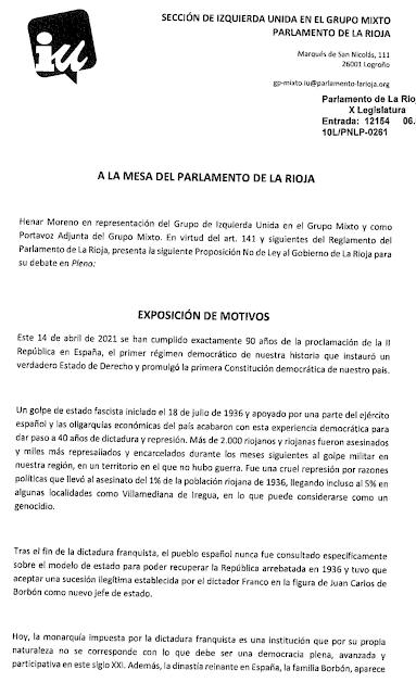 Documento PNL IU La Rioja.