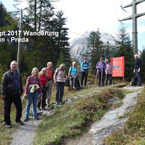 Wanderung Bergün - Preda
