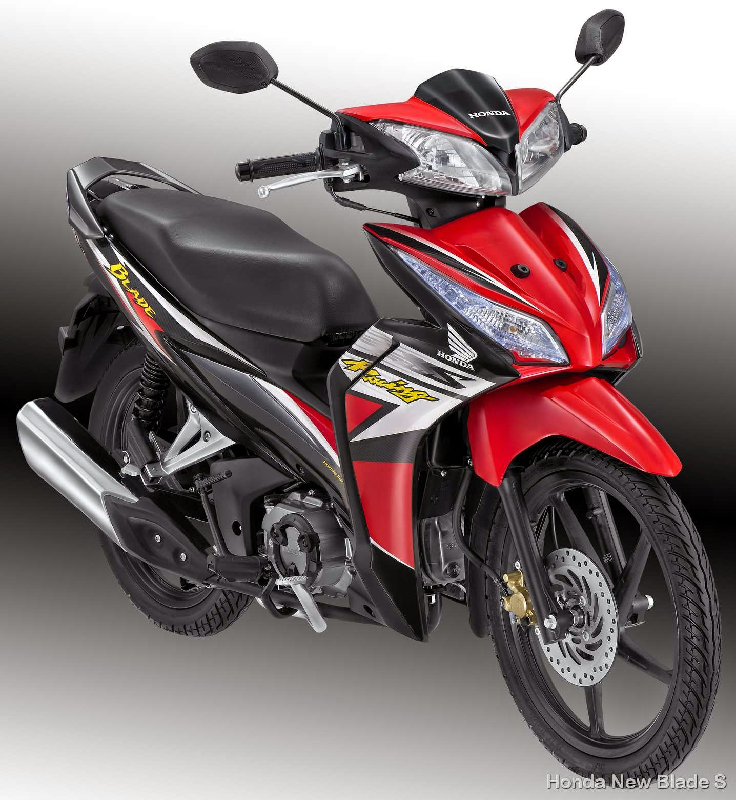 Modifikasi New Blade Repsol