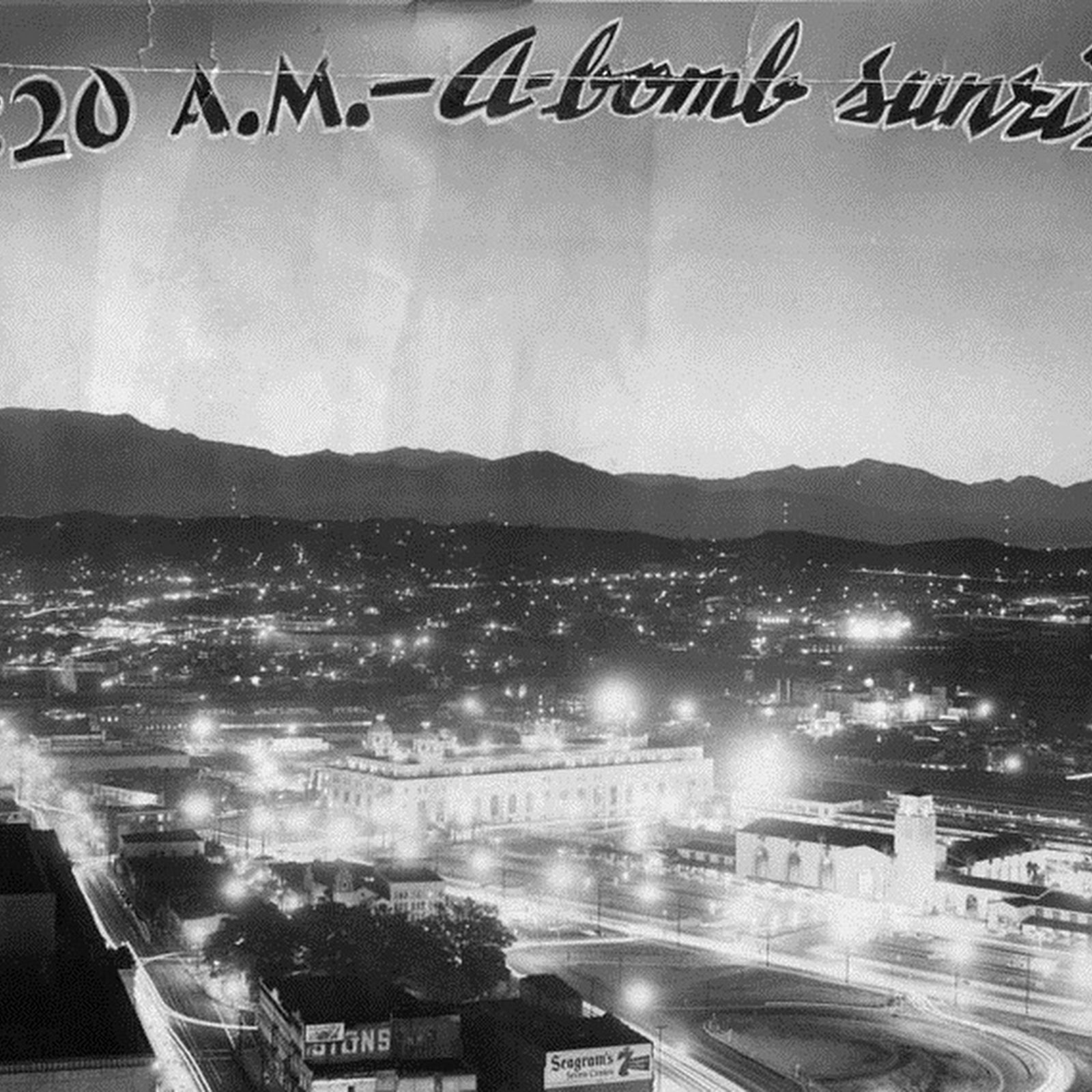 How The Atomic Tests Looked Like From Los Angeles