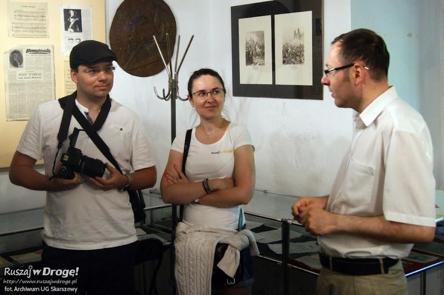 Skarszewy - zwiedzamy ekspozycje w Zamku Joannitów