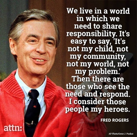 Mr Fred Rogers