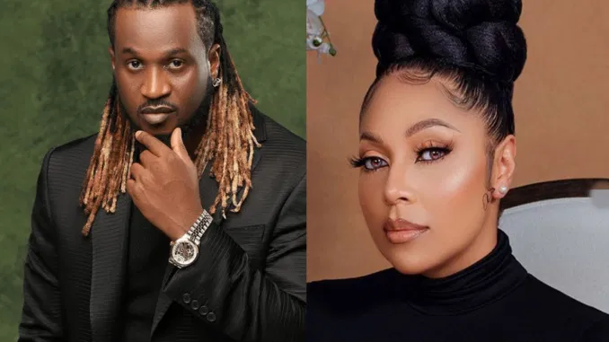 """At the age of almost 50, you still think you can be manipulative""- Rudeboy Blasts Peter's Wife, Lola Okoye Over Her Birthday Post Calling For Settlement Between The Two Brothers"