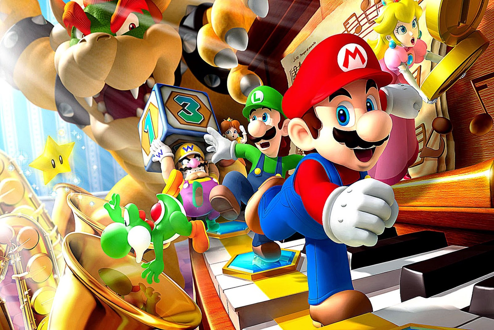 Mario Game Wallpapers  HD Wallpapers