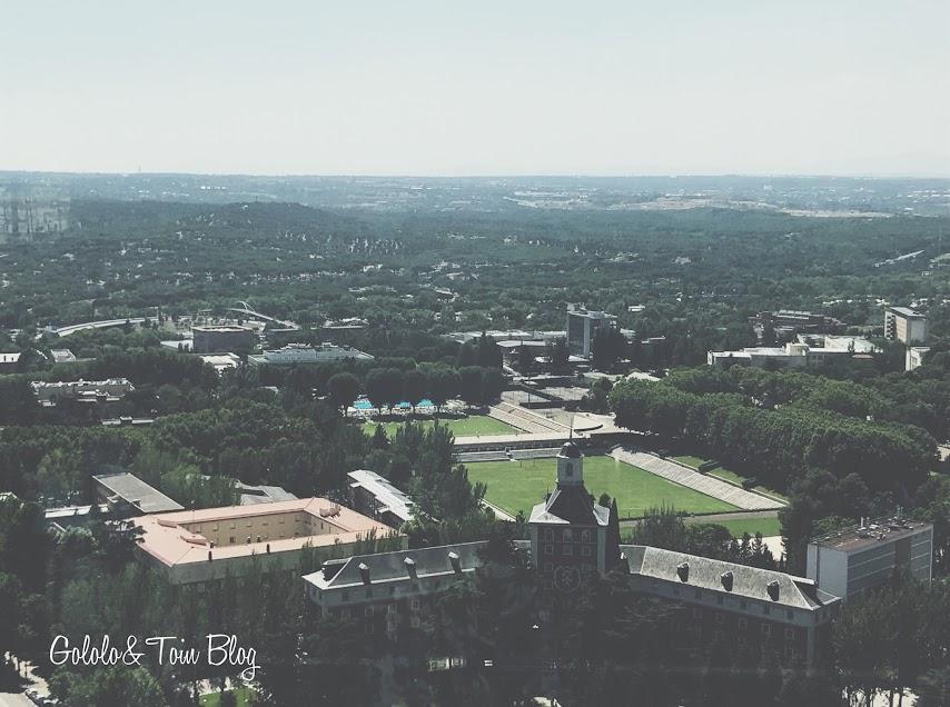 Vistas de Madrid desde el mirador de Moncloa