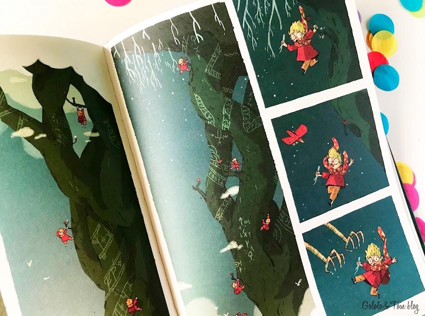 Libro comic Arthur y la cuerda dorada SM