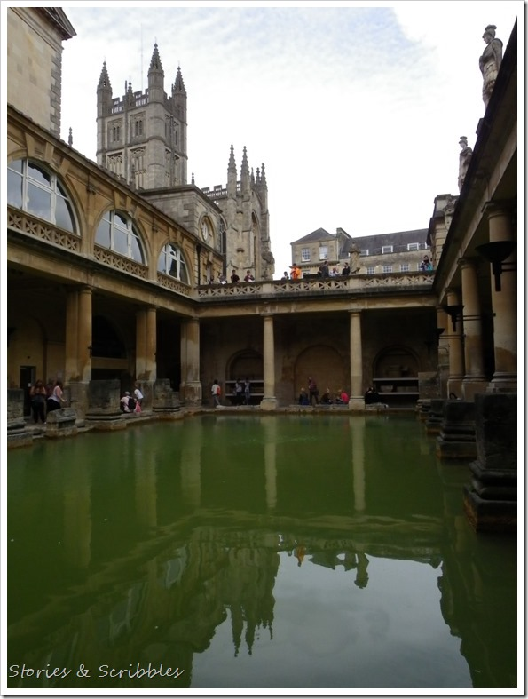 The Great Bath & Bath Abbey