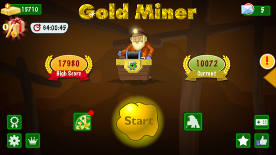 Gold Miner Classic- screenshot thumbnail
