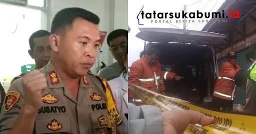 Kapolresta Sukabumi AKBP Susatyo masih selidiki kasus ledakan petasan di Pasar Sukabumi // Foto : Dian Syahputra Pasi