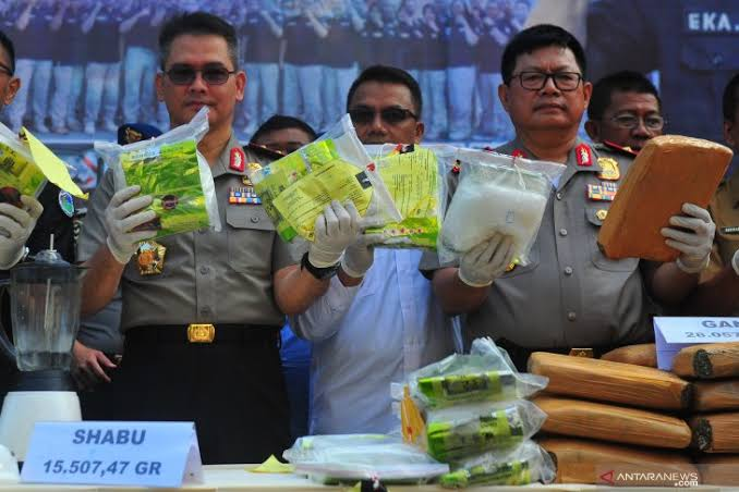 Ditresnarkoba: China Penyuplai Besar Sabu ke Indonesia