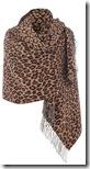 Max Mara leopard print wrap
