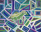 Green Frog by Jack