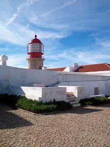 The lighthouse at Capo de São Vincente