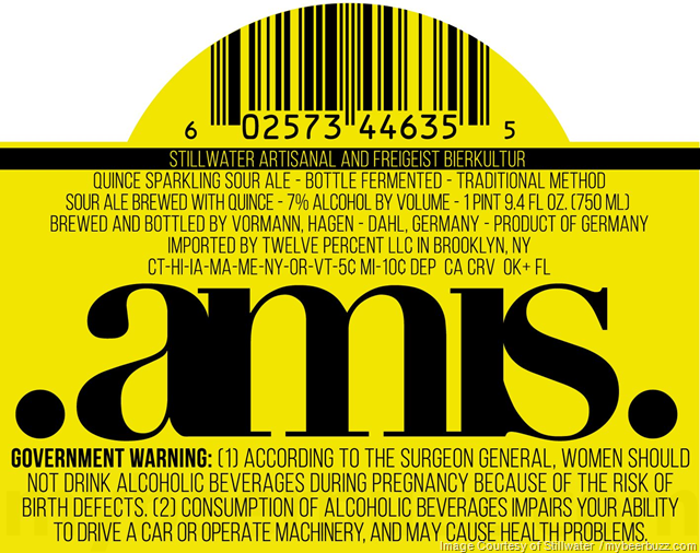 Stillwater Artisanal & Freigeist Bierkultur Collaborate On .Amis. Sour Ales