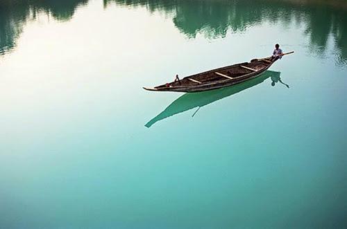 A boat at Lalakhal