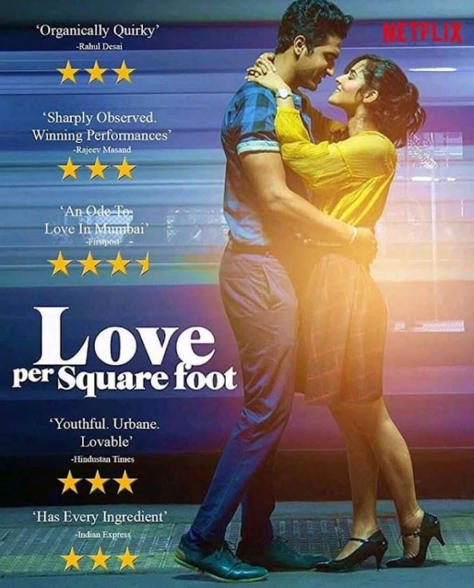 Love Per Square Foot (2018) হিন্দী রোমান্টিক মুভি রিভিউ