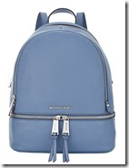Michael Michael Kors denim blue backpack - other colours