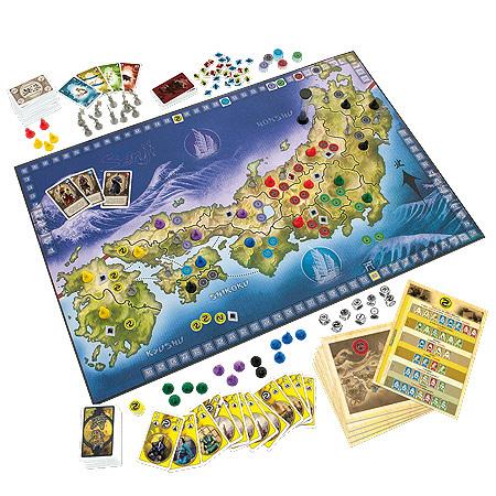 Senji boardgame, Сенджи настольная игра