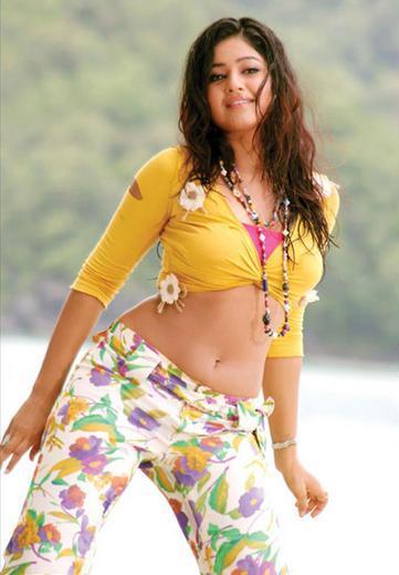 Ponam Bajwa hot in Boss romancing with Nagarjuna