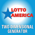 Lotto America winning numbers icon