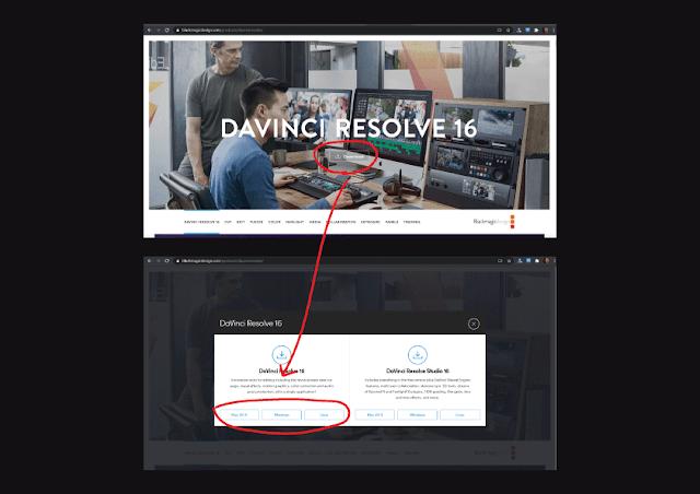 Cara Download DaVinci Resolve 16 Terbaru Gratis
