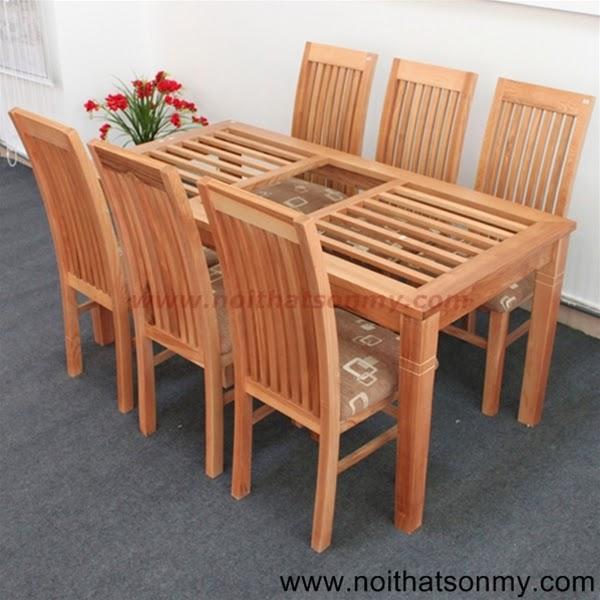Bộ bàn ghế phòng ăn 04