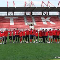 DVTK edzés a derbi előtt 2011.04.16.