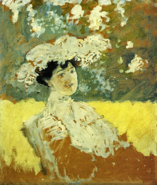 Édouard Vuillard - Woman with a Hat