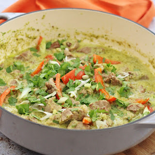 Lamb Thai Green Curry.